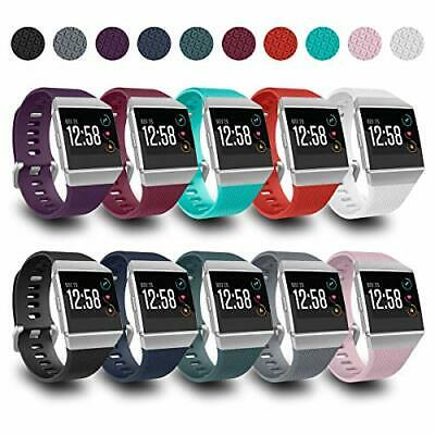 $ CDN40.52 • Buy AIUNIT Compatible With Fit Bit Ionic Bands For Men Women Teens Kids Large Wit...
