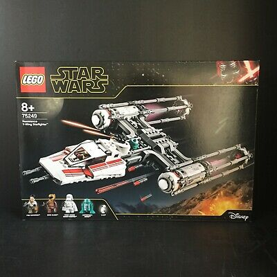 AU109.99 • Buy LEGO 75249 Star Wars Resistance Y-Wing Starfighter Poe Dameron Droid New Sealed
