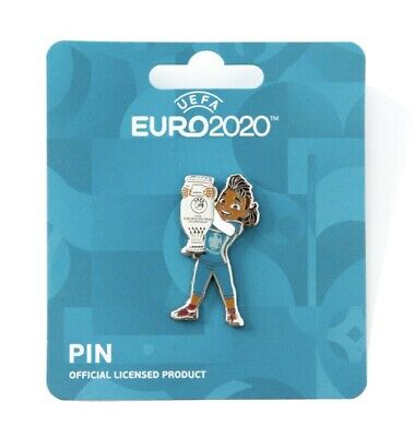 £12.99 • Buy Pin Mascot Trophy Lift Pose UEFA EURO 2020 Official Licensed BNWT