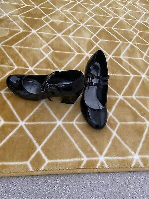 £5.99 • Buy Emilio Luca Black Patent  Dolly Shoes Size 4