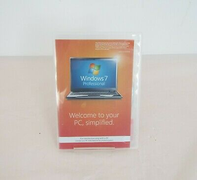 £28 • Buy Windows 7 Professional - Operating System With Service Pack 1 - 32 Bit
