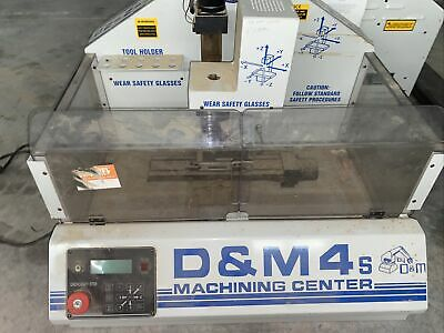 $925 • Buy D&M4s / Sherline CNC Mill W/ Enclosure. 90VDC Spindle, Can Ship/deliver