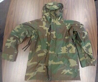 $17.99 • Buy US Military Army Cold Weather Parka Camo Jacket Mens Med Reg 8415-01-228-1316