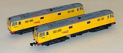 £62 • Buy Dapol (ND147) N Gauge Class 86 Twin Pack Network Rail Powered & Dummy DCC Ready