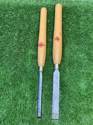 £40 • Buy Vintage 2X Henry Taylor Wood Turning Chisels