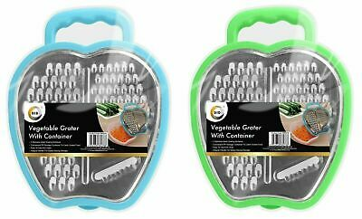 £3.99 • Buy Kitchen Cheese Food Grater With Container Vegetable Carrot Slicer Shredder NEW