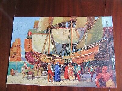£40 • Buy Vintage Chad Valley 400 Piece Jigsaw Drake Goes West