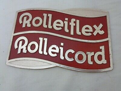 £7.07 • Buy Vintage Old Rolleiflex Rolleicord Camera Store Dispay Case Sign Advertisment *nr