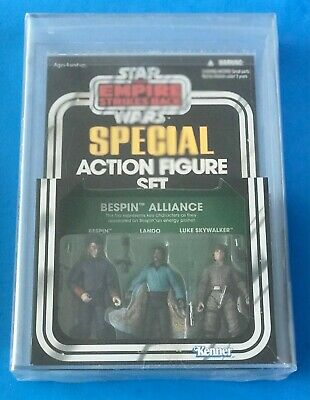 $ CDN358.29 • Buy Star Wars Vintage Collection Bespin 3 Pack Target Exclusive Afa 8.5