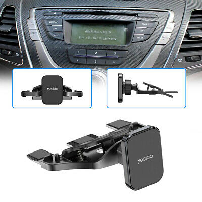 $ CDN15.06 • Buy Universal Car Cell Phone Mount Holder Magnetic Stand CD Slot For Samsung/iPhone