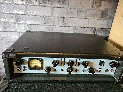 £260 • Buy Ashdown ABM  Evo III 500  Bass Amplifier Head Amp With Cover /foot Switch