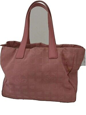 AU250 • Buy Chanel Tote Bag In Pink AUTH Item