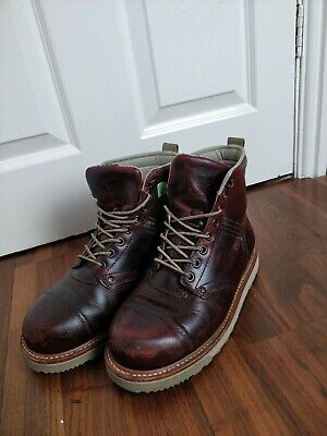 £29.99 • Buy Timberland Heritage Burgundy  Red Leather Boots  Womens Size UK 7