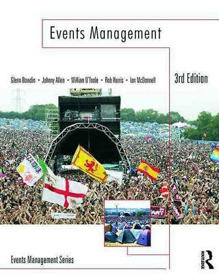 £47.15 • Buy Events Management By Glenn Bowdin (English) Paperback Book Free Shipping!