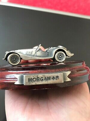 £7 • Buy Mark Models Silver Plated Pewter Model Of A Morgan + 8