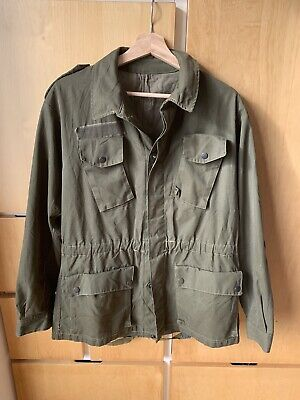 £19.90 • Buy Very Rare Vintage GENUINE ITALIAN ARMY MILITARY COMBAT JACKET SIZE 38/40  CHEST