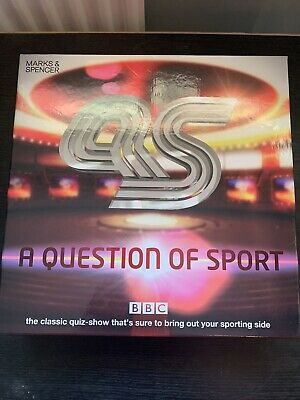 £29.95 • Buy Question Of Sport Board Game ~ Marks And Spencer ~ Incomplete