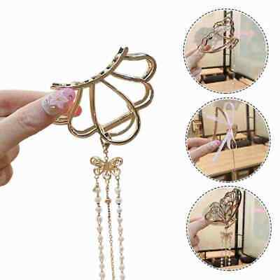 £2.85 • Buy Claw Clips Temperament Grab Butterfly Metal Hairpin Back Tassel Shark Clip