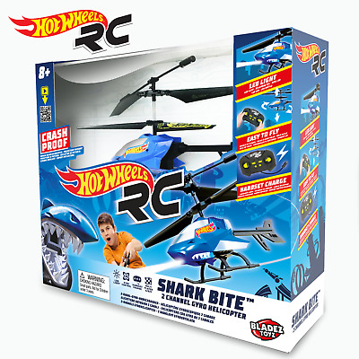 £19.99 • Buy Hot Wheels RC Shark Bite 2 Channel Gyro Helicopter