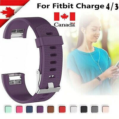 $ CDN5.99 • Buy For Fitbit Charge 2 3 4 Various Band Replacement Wristband Watch Strap Bracelet