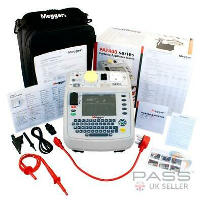 £1399.98 • Buy Megger PAT450 Downloadable PAT Tester With Flash Testing + Accessories & Cal