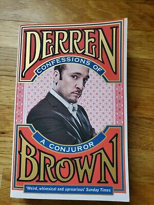 £2 • Buy Confessions Of A Conjuror By Derren Brown (Paperback, 2011)