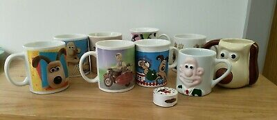 £18 • Buy Wallace And Gromit Mugs X 9 - Job Lot