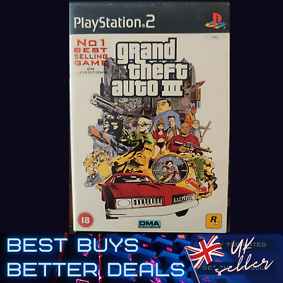 £5.49 • Buy Grand Theft Auto 3 GTA III PlayStation 2 PS2 Game PAL TESTED