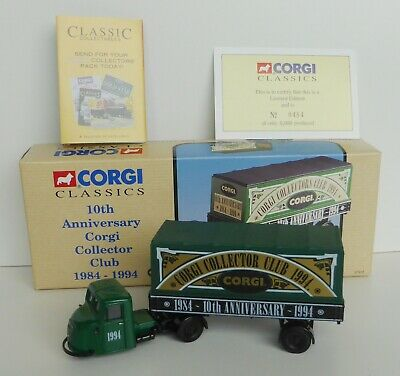 £10.50 • Buy Corgi Classics 97916 1:50 Scammell Scarab Mechanical Horse Collector Club Boxed