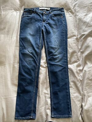 £5 • Buy Next Relaxed Skinny Jeans Uk Size 10 Blue Denim Trousers 70% Cotton