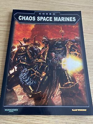 £4 • Buy Games Workshop Warhammer 40K: Chaos Space Marines Codex 3rd Edition Revised