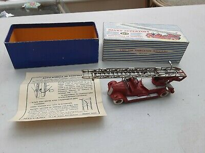 £79.99 • Buy French Dinky 32D Delahaye Fire Truck , Vintage Diecast