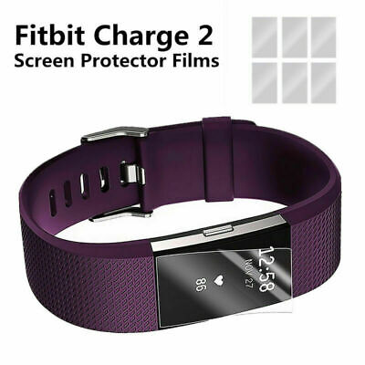 AU3.99 • Buy 3PCS Premium HD Clear Screen Protector Film Guard Shield For Fitbit Charge 2
