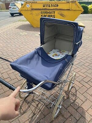 £50 • Buy Vintage Silver Cross Style Pram 1970's Good Condition With Mattress