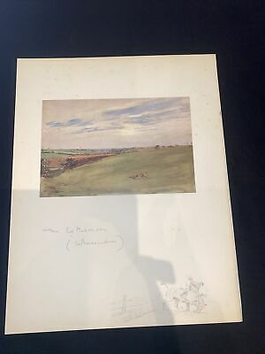 £15 • Buy 1928 Hunting Sketch Book Lionel Edwards Illustrated The Cottesmore