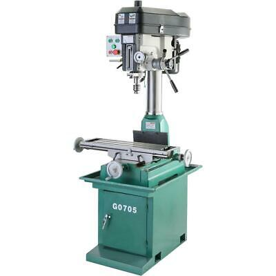 $2630 • Buy Grizzly G0705 8  X 29  2 HP Mill/Drill With Stand
