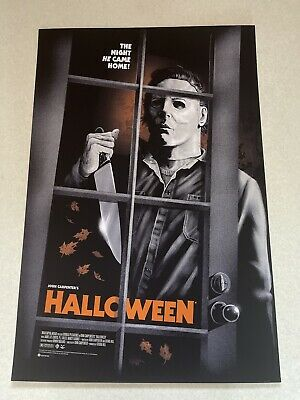 £149.99 • Buy Halloween Michael Myers Variant Poster Gary Pullin Mondo Sold Out