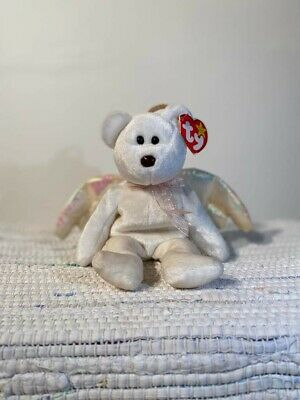 £700 • Buy RARE 'Halo' 1998 TY Beanie Baby With Rare Brown Nose. Mint Condition With Tag