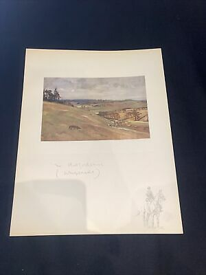 £15 • Buy 1928 Hunting Sketch Book Lionel Edwards Illustrated The Hertfordshire Whipsnade