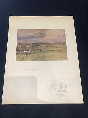 £15 • Buy 1928 Hunting Sketch Book Lionel Edwards Illustrated The Whaddon Chase Denham