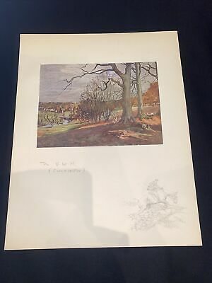£15 • Buy 1928 Hunting Sketch Book Lionel Edwards Illustrated The VWH Cirencester Coln St
