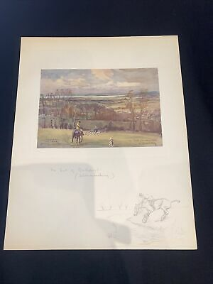 £15 • Buy 1928 Hunting Sketch Book Lionel Edwards Illustrated The Earl Of Berkeley's