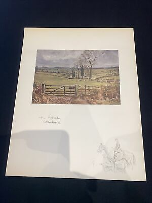 £15 • Buy 1928 Hunting Sketch Book Lionel Edwards Illustrated The Pytchley Cottesbrook