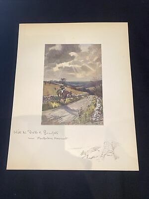 £15 • Buy 1928 Hunting Sketch Book Lionel Edwards Illustrated The Duke Of Beaufort's Hawk