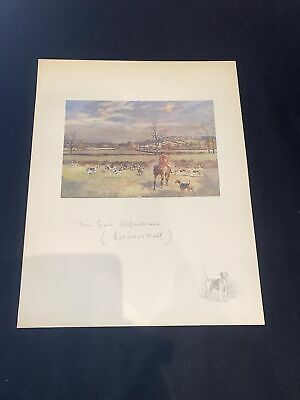 £15 • Buy 1928 Hunting Sketch Book Lionel Edwards Illustrated The South Staffordshire