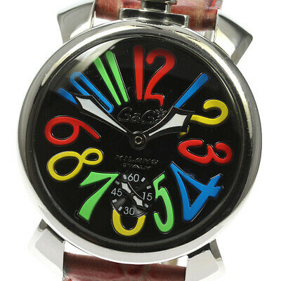 £254.13 • Buy GaGa MILANO Manuale48MM 5010.02S Small Seconds Hand Winding Men's Watch_615685