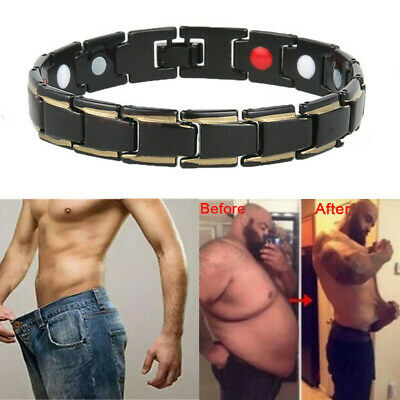 £3.99 • Buy Mens Titanium Strong Magnetic Bracelet Therapy Arthritis Health Pain Relief UK