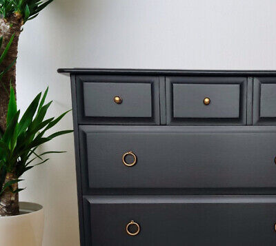 £290 • Buy Stag Minstrel Furniture Chest Bedside Drawers Pair