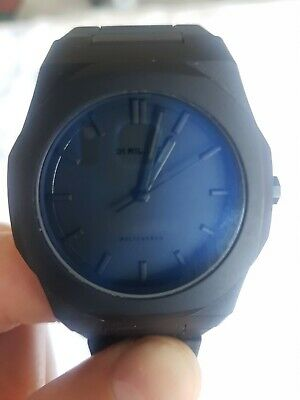 £99 • Buy Used: D1 Milano, Men's Black Crystal Polycarbon Collection Watch.