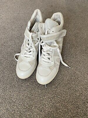 £7.10 • Buy Ash Wedge Trainers White Size 41 / 8 - Brand New